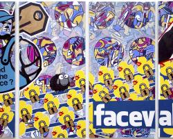Validation From The Like Button,Facebook,Facebook art,intimacy issues,social media issues,The McLoughlin Art Gallery,Bryan Boutwell