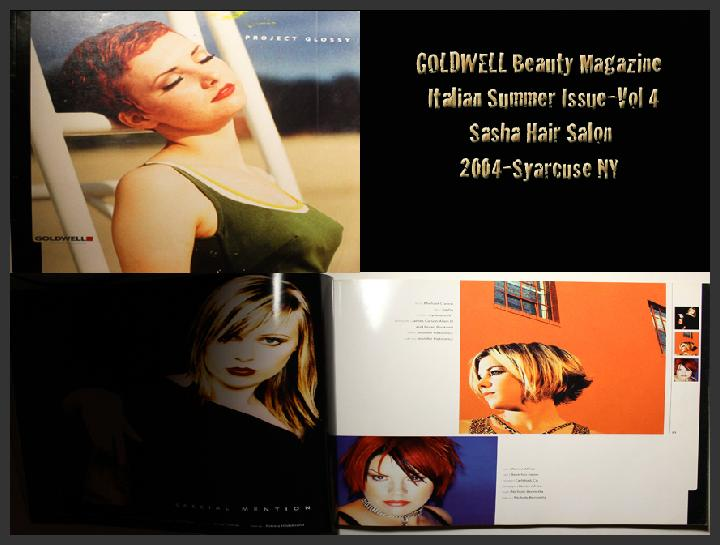 Goldwell Hair Magazine-Featured Fashion Photographer Bryan Matthew Boutwell-Italian Summer Review